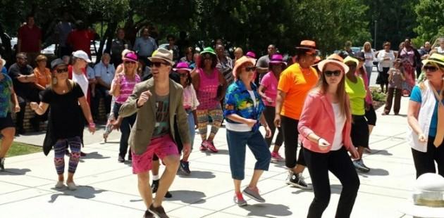 Minges Wellness Center Thriller Mob Flash