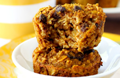 Healthy Recipe | Pumpkin Oatmeal Muffins