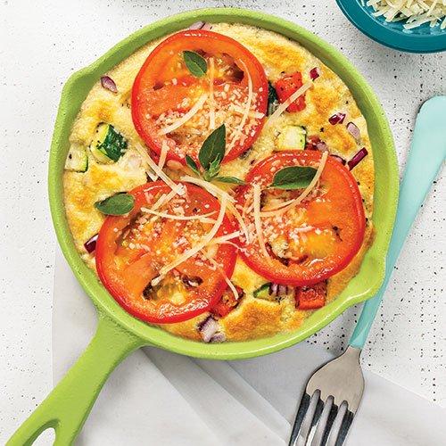 Fluffy Vegetable Frittata